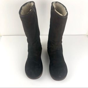 Ugg used brown tall boots size 7